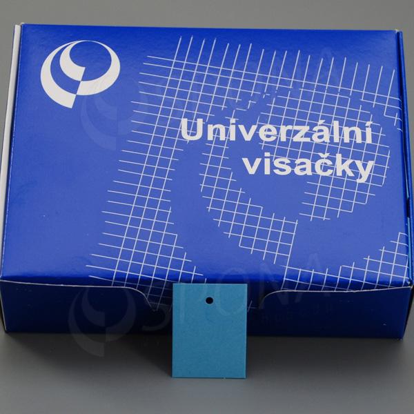 Visačky 3040 bez tlače modré, 2.000 ks
