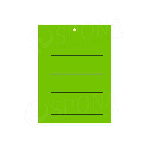 Visačky 3040 s potlačou, zelené, 2.000 ks