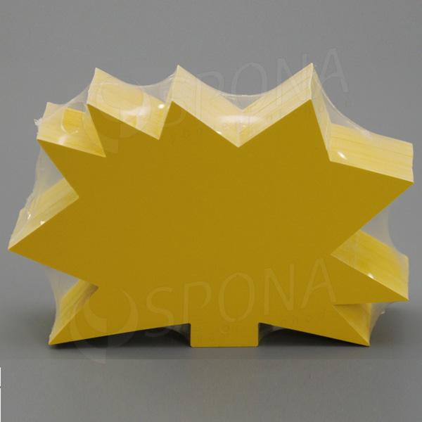 Visačky DREAMER Ježko 120 x 80, žlté, 90 ks