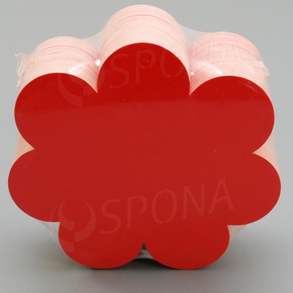 Visačky DREAMER KYTKA 95 x 90, červené, 90 ks
