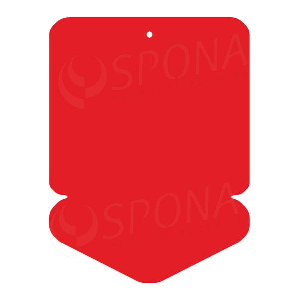 Visačky DREAMER ŠÍPKA 43 x 60, červené, 250 ks