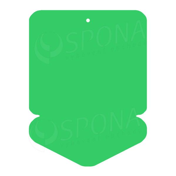 Visačky DREAMER ŠÍPKA 43 x 60, zelené, 250 ks