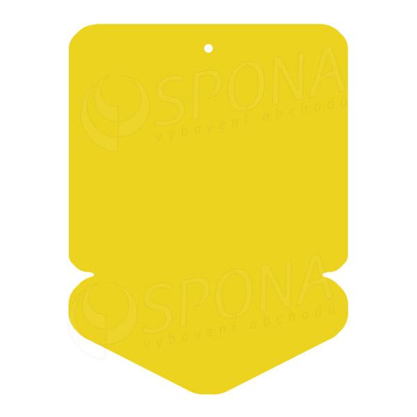 Visačky DREAMER ŠÍPKA 43 x 60, žlté, 250 ks