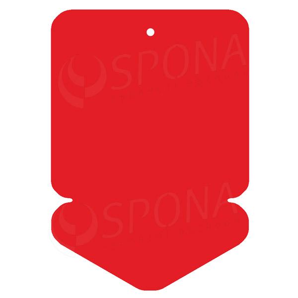 Visačky DREAMER ŠÍPKA 105 x 148, červené, 50 ks