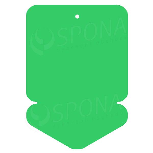Visačky DREAMER ŠÍPKA 105 x 148, zelené, 50 ks