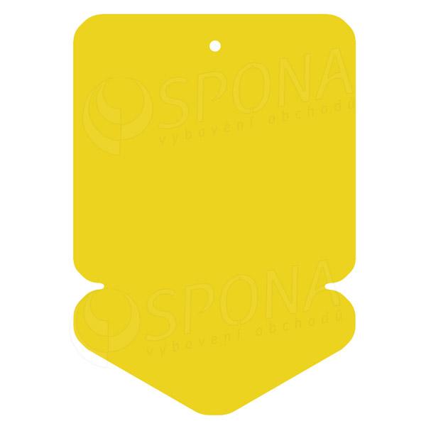 Visačky DREAMER ŠÍPKA 105 x 148, žlté, 50 ks