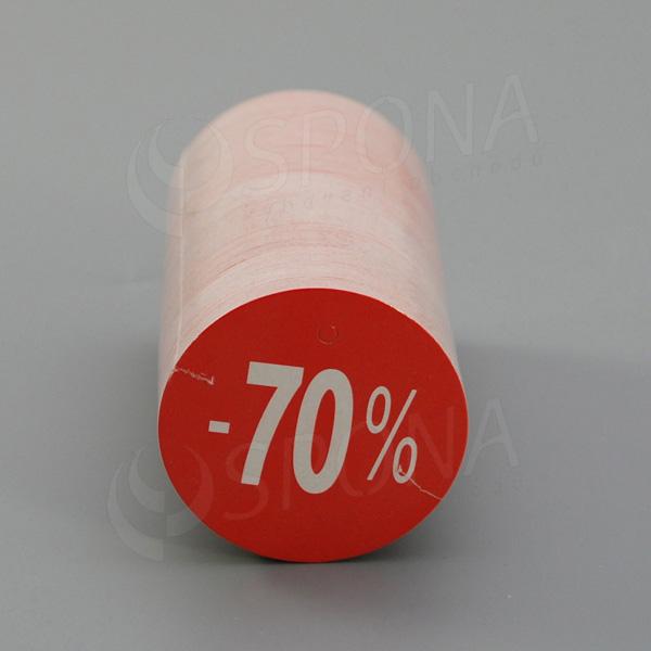 Visačky SKONTO KRUH 45, -70%, červené, 180 ks