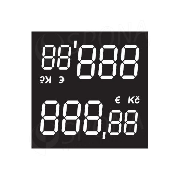 Cenovky 0323 s haliermi, 100 ks