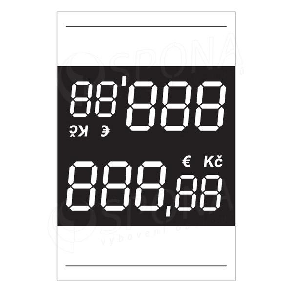 Cenovky 3537 s Eurom, 100 ks