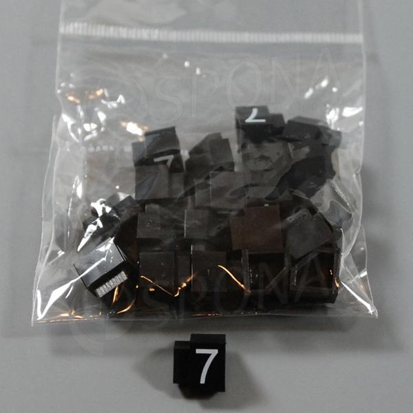 Cenovky Q 3, 6 x 9 mm, náhradné číslo 7, 20 ks