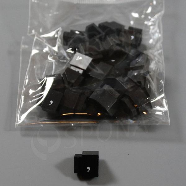 Cenovky Q 3, 6 x 9 mm, náhradná čiarka, 20 ks