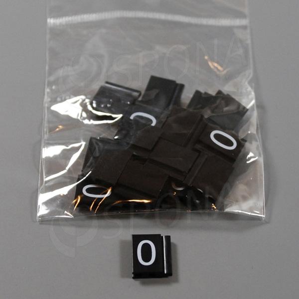 Cenovky Q 6, 8 x 12 mm, náhradné číslo 0, 20 ks