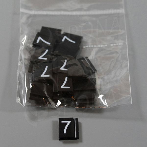 Cenovky Q 6, 8 x 12 mm, náhradné číslo 7, 20 ks
