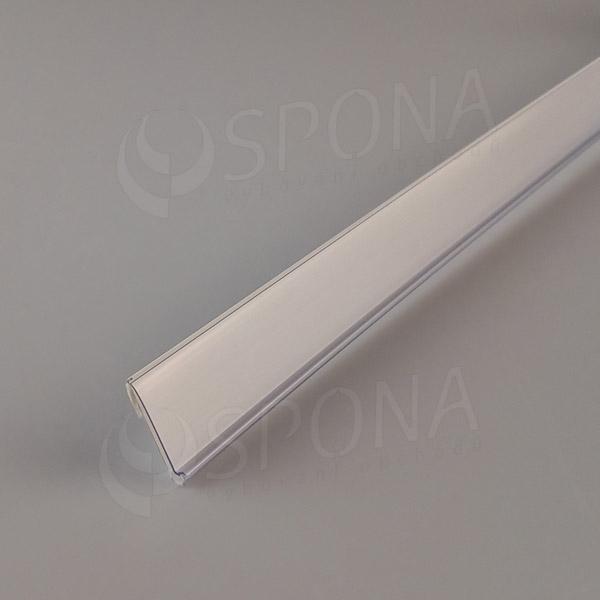 Cenovková lišta čelná 26 x 997 mm, samolepiaca, biela