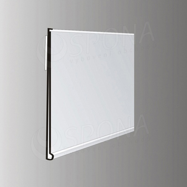 Cenovková lišta čelná 40 x 1250 mm, samolepiaca, biela