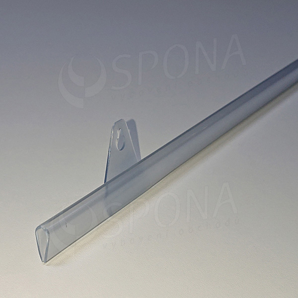 BANNER lišta záťažová KVAPKA 32 cm, číra