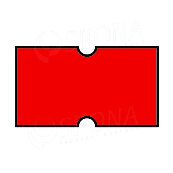 Etikety do kliešti, COLA-PLY 22 x 12, červené
