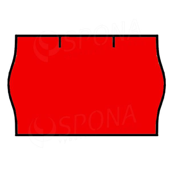 Etikety do klieští CONTACT, zaoblené, 25 x 16 mm, červené
