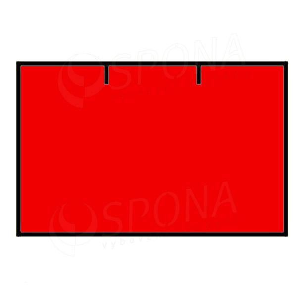 Etikety do kliešti, CONTACT 25 x 16, rovné, červené