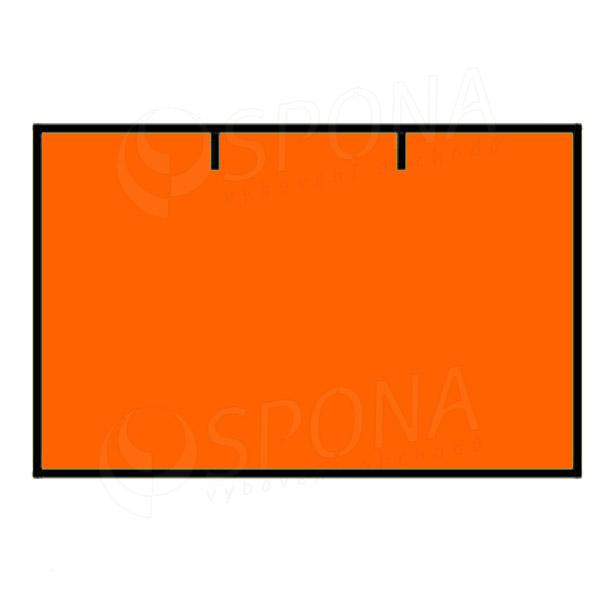 Etikety do kliešti, CONTACT 25 x 16, rovné, oranžové