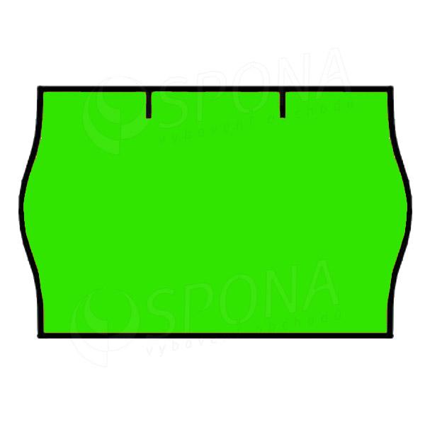 Etikety do klieští CONTACT, zaoblené, 25 x 16 mm, zelené