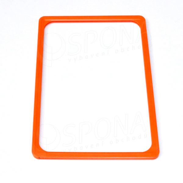 PLAGÁT rám 100, A4, oranžový