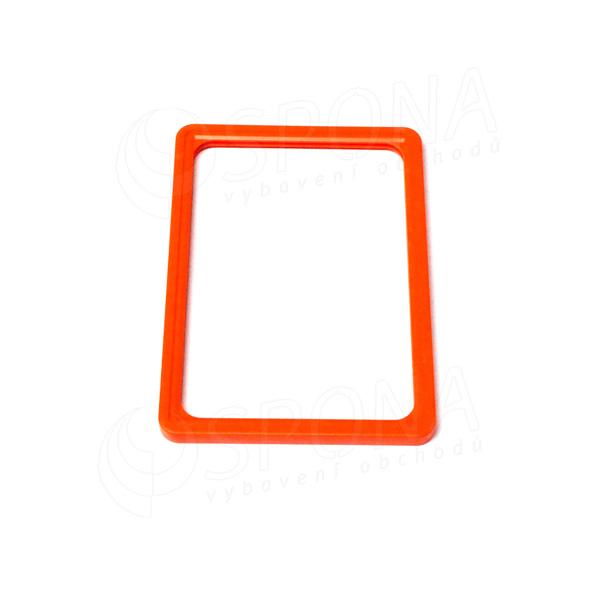 PLAGÁT rám 100, A5, oranžový