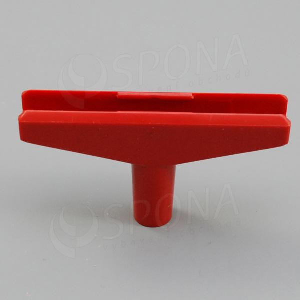 PLAGÁT T-kus 100, šírka 90 mm, červený