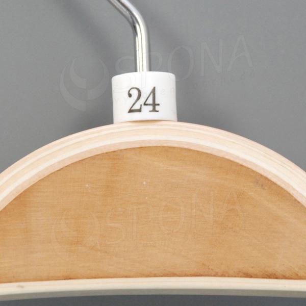 Minireitery 24, 25 ks, biele