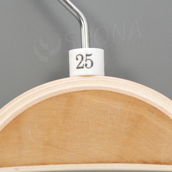 Minireitery 25, 25 ks, biele