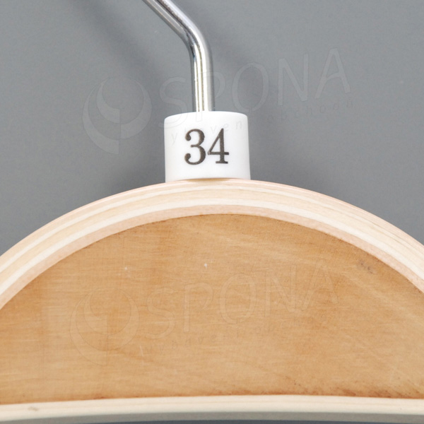 Minireitery 34, 25 ks, biele