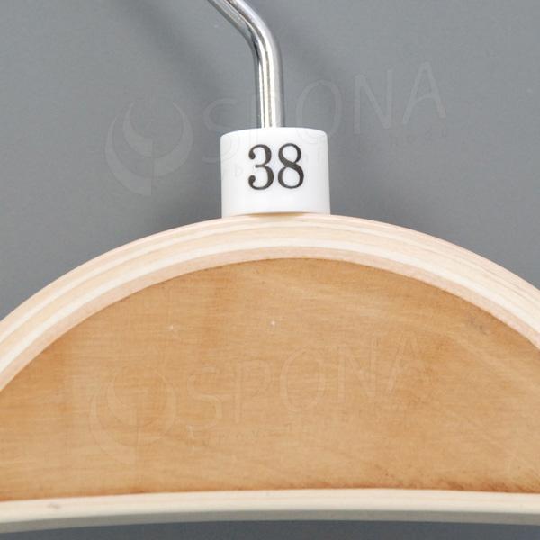 Minireitery 38, 25 ks, biele