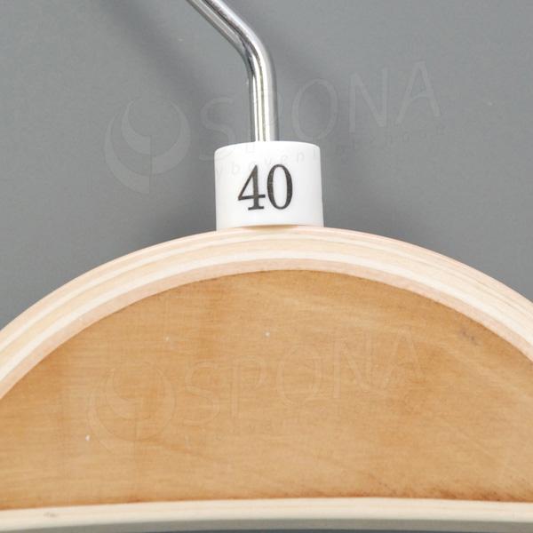 Minireitery 40, 25 ks, biele