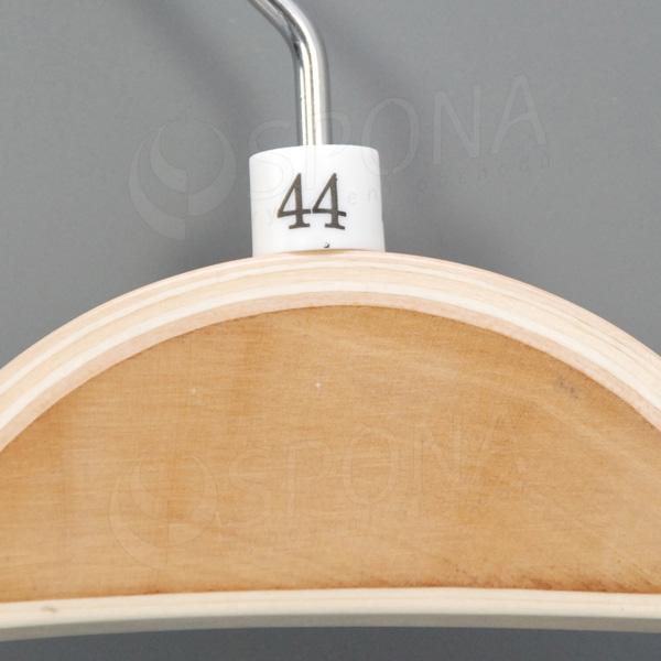 Minireitery 44, 25 ks, biele