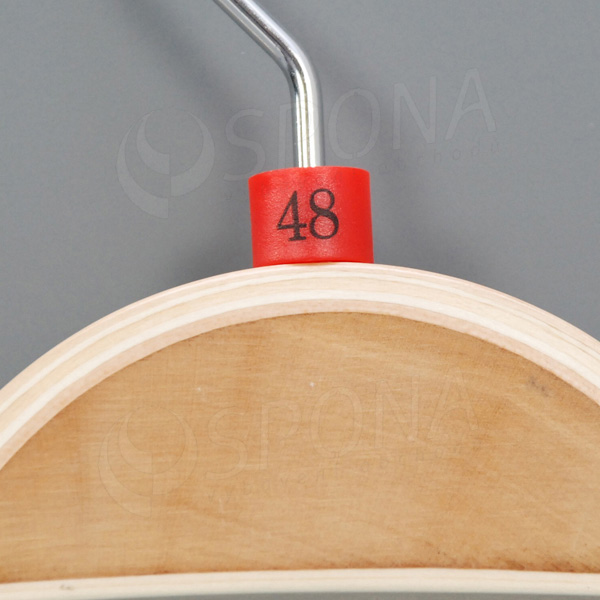 Minireitery 48, 25 ks, červené