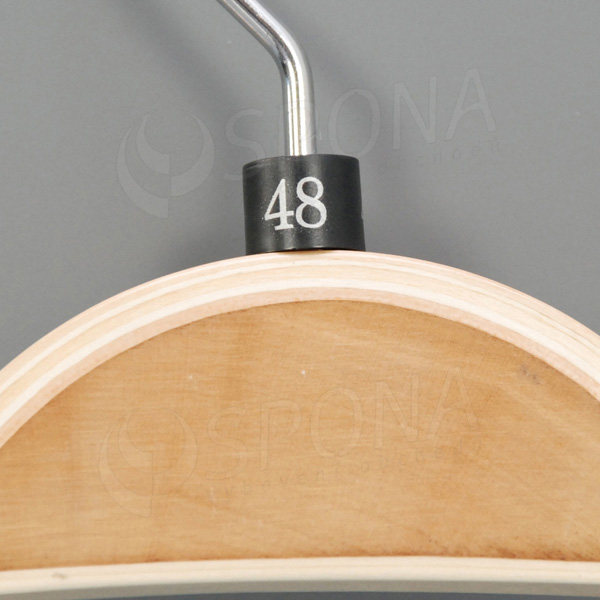 Minireitery 48, 25 ks, čierne, strieborná tlač