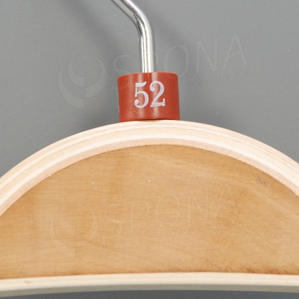 Minireitery 52, 25 ks, hnedé