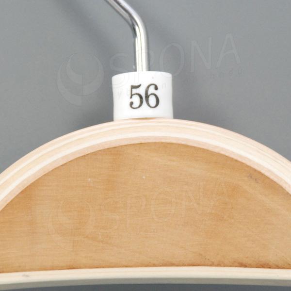 Minireitery 56, 25 ks, biele
