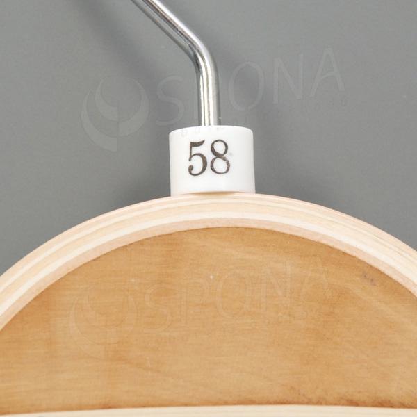 Minireitery 58, 25 ks, biele