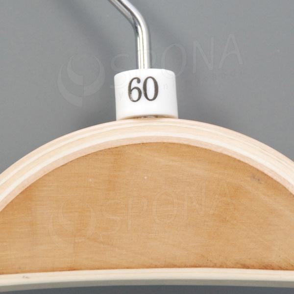 Minireitery 60, 25 ks, biele
