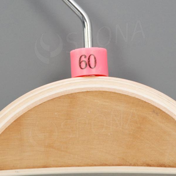 Minireitery 60, 25 ks, ružové