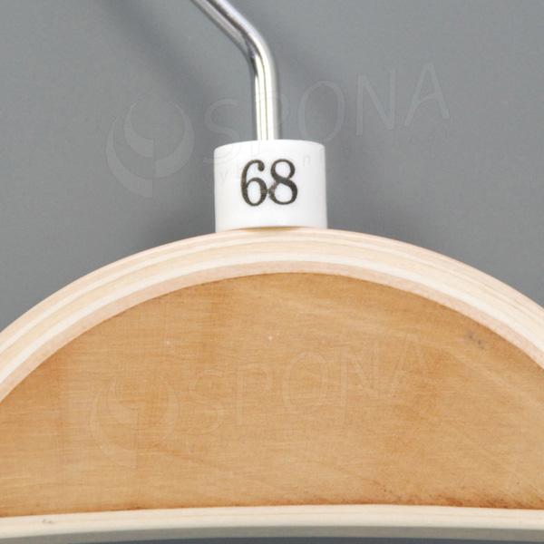 Minireitery 68, 25 ks, biele