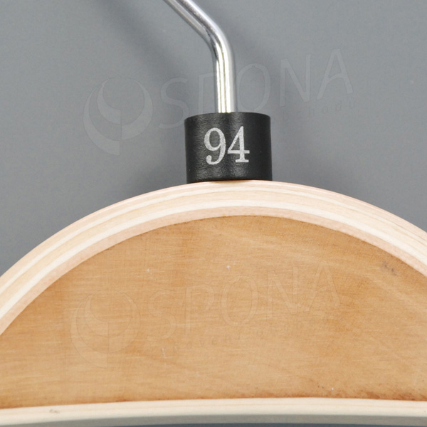 Minireitery 94, 25 ks, čierne, strieborná potlač