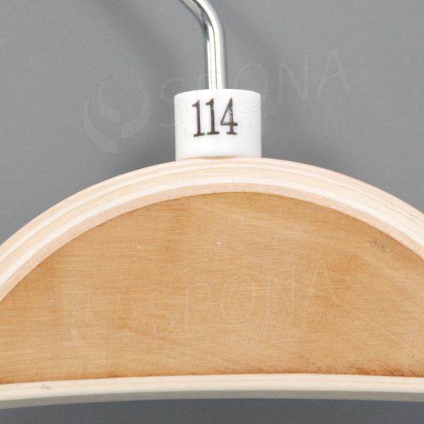 Minireitery 114, 25 ks, biele