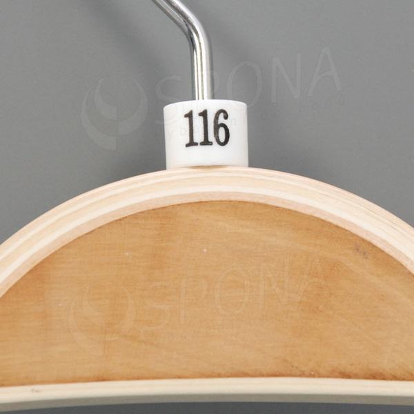 Minireitery 116, 25 ks, biele