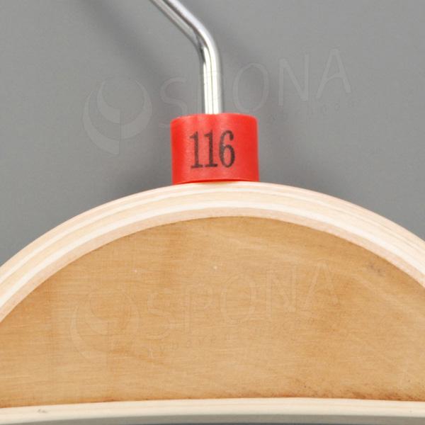 Minireitery 116, 25 ks, červené