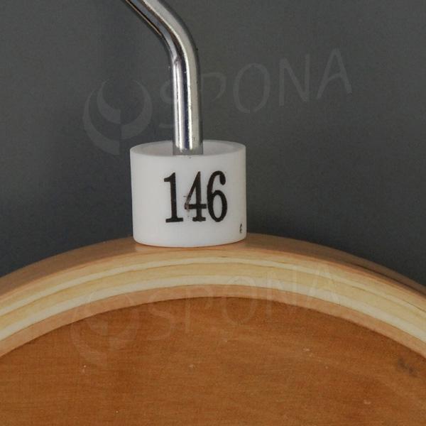 Minireitery 146, 25 ks, biele