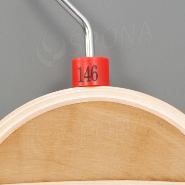 Minireitery 146, 25 ks, červené