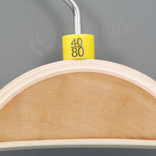 Minireitery nohavicové, 40/80, 25 ks, žlté