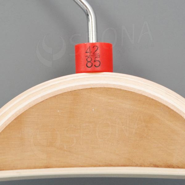 Minireitery nohavicové, 42/85, 25 ks, červené